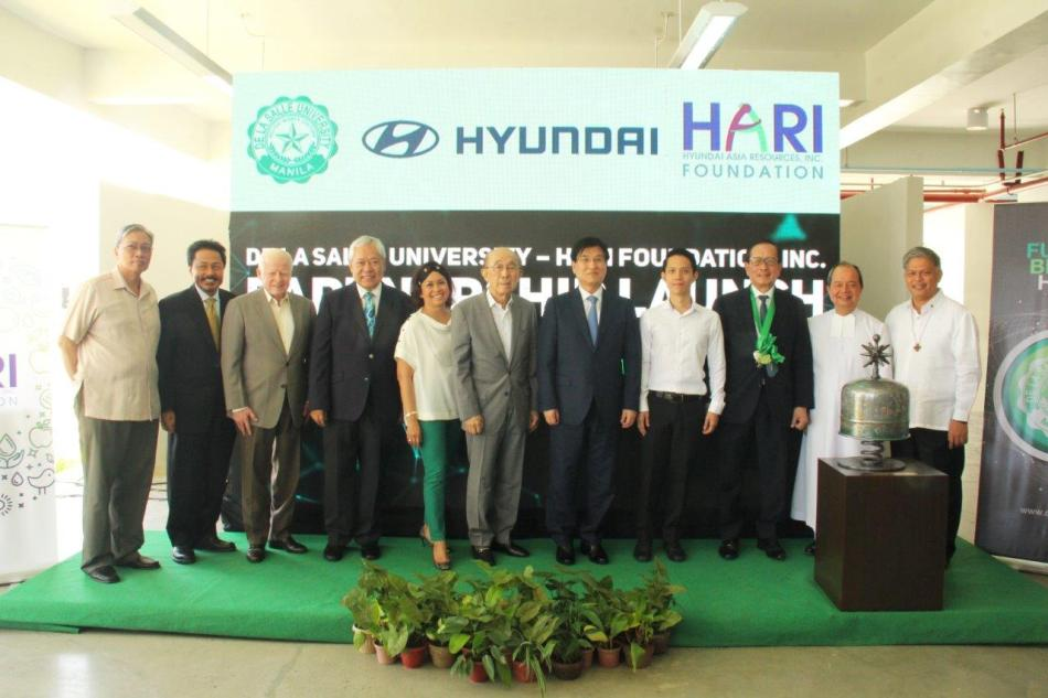 Hyundai Philippines Launches Richard L. Lee Engineering & Technology Block In DLSU Laguna