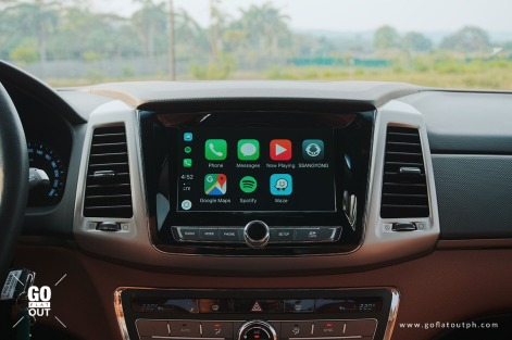 2019 SsangYong Musso 2.2 4x2 AT Apple CarPlay