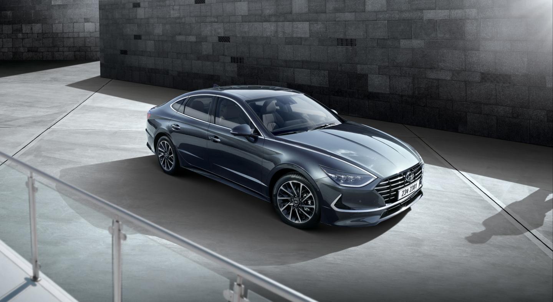 All-New Hyundai Sonata Reveals Its Sporty Four-Door Coupe Design