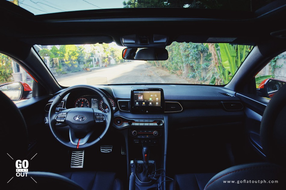 2019 Hyundai Veloster Turbo Interior