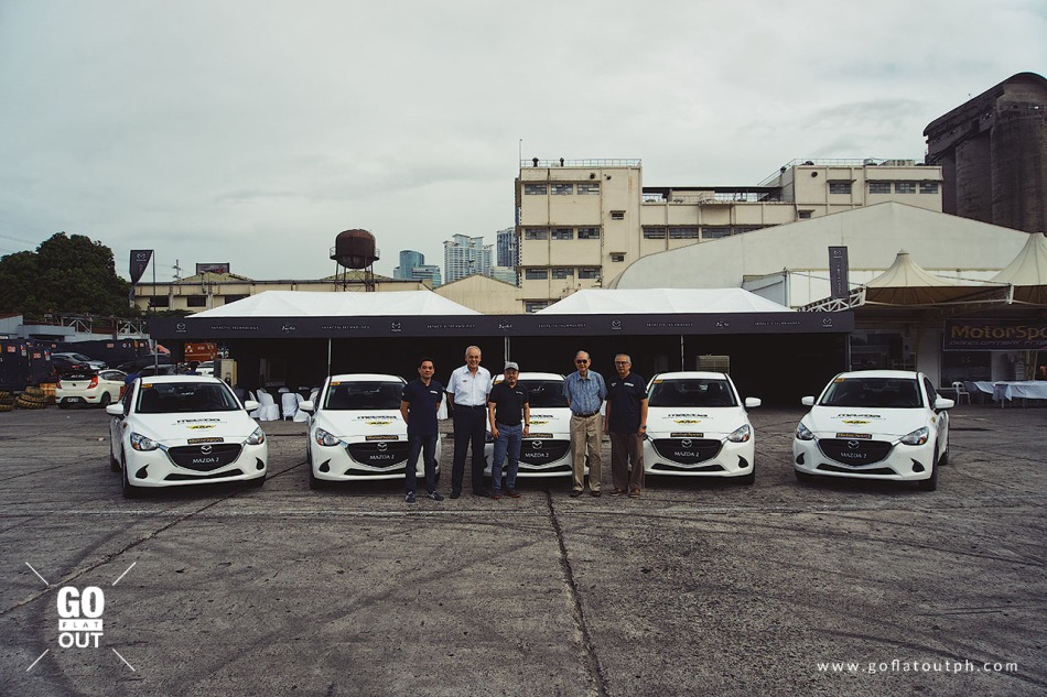Five Mazda 2s Donated For The AAP Motorsports Development Program