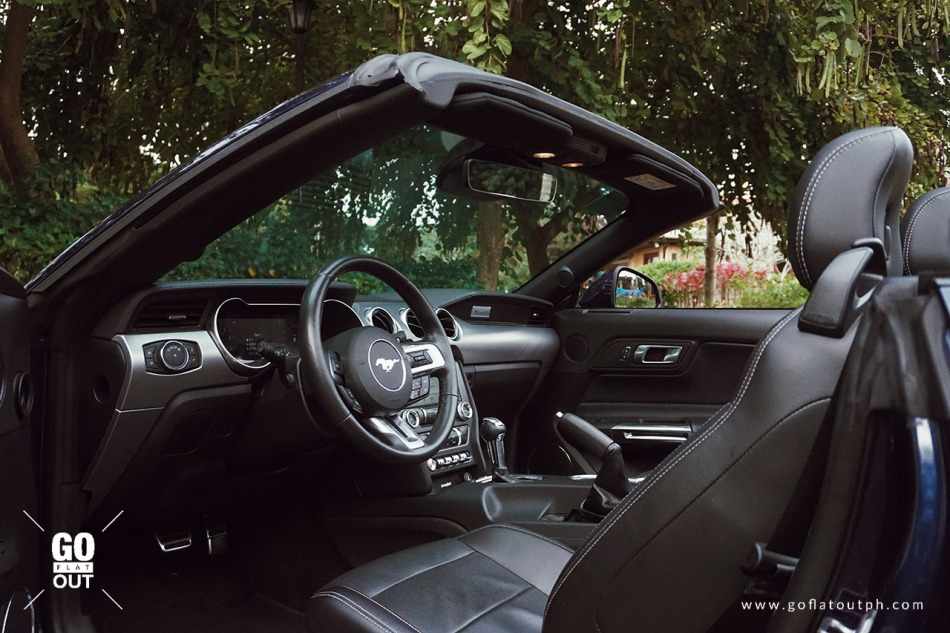 2019 Ford Mustang GT Convertible Interior