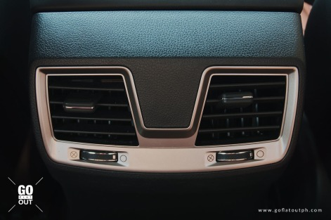 2019 SsangYong Musso 2.2 4x2 Rear Aircon Vents