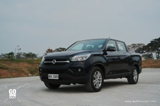 2019 SsangYong Musso 2.2 4x2 AT Exterior