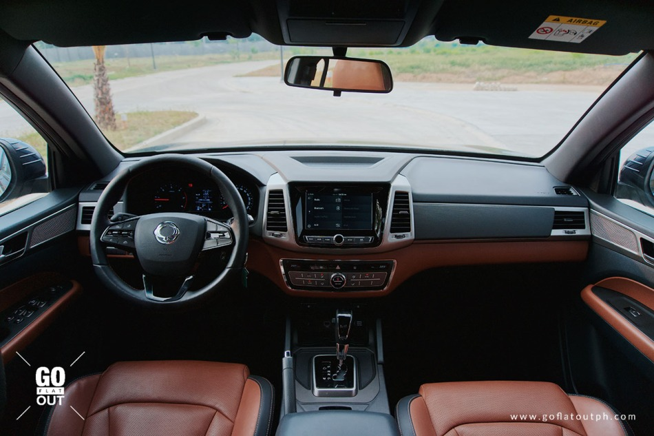2019 SsangYong Musso 2.2 4x2 AT Interior