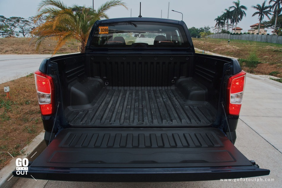 2019 SsangYong Musso Bed