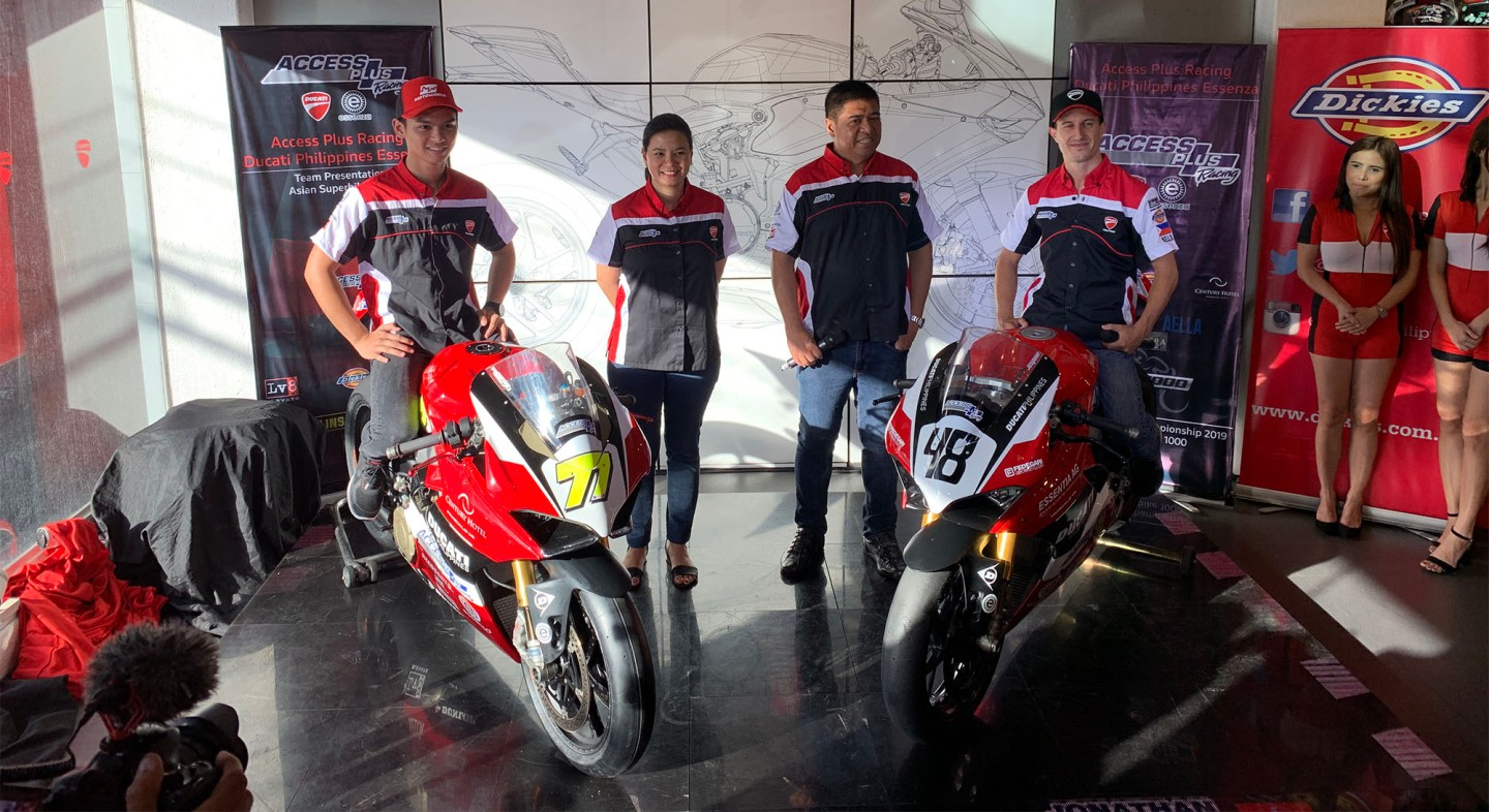 Access Plus Racing Launches Team To Compete In Asian Super Bike 1000 Class