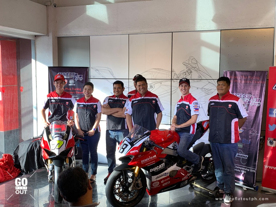 Team Access Plus Racing – Ducati Philippines – Essenza Owners, Racers and Mechanics