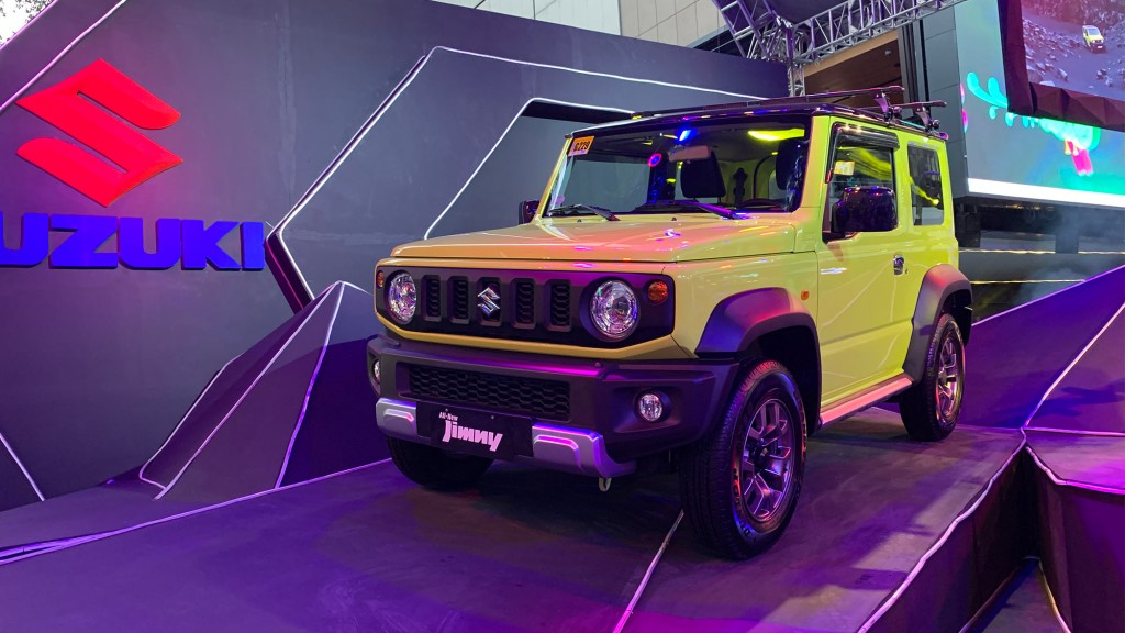 2019 Suzuki Jimny Now On Sale In The Philippines With P975K Starting Price