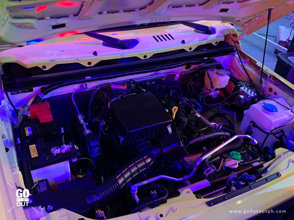 2019 Suzuki Jimny GL Engine