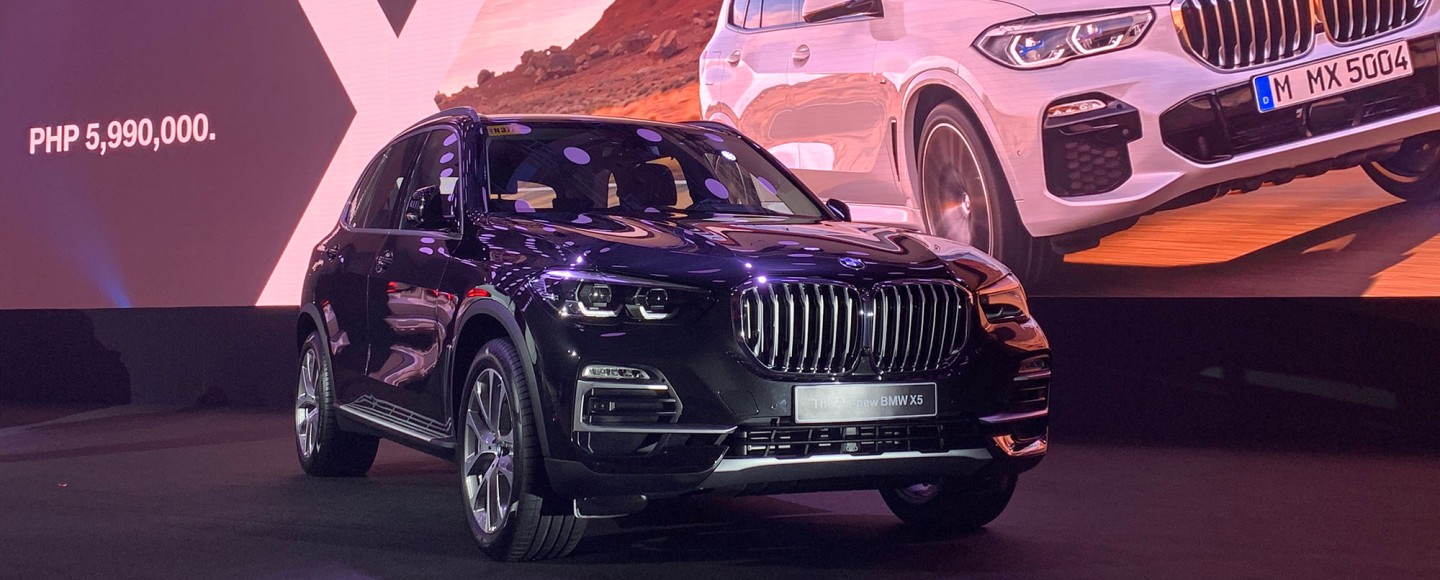 2019 Bmw X5 Makes Its Philippine Debut With P5 990m Starting Price