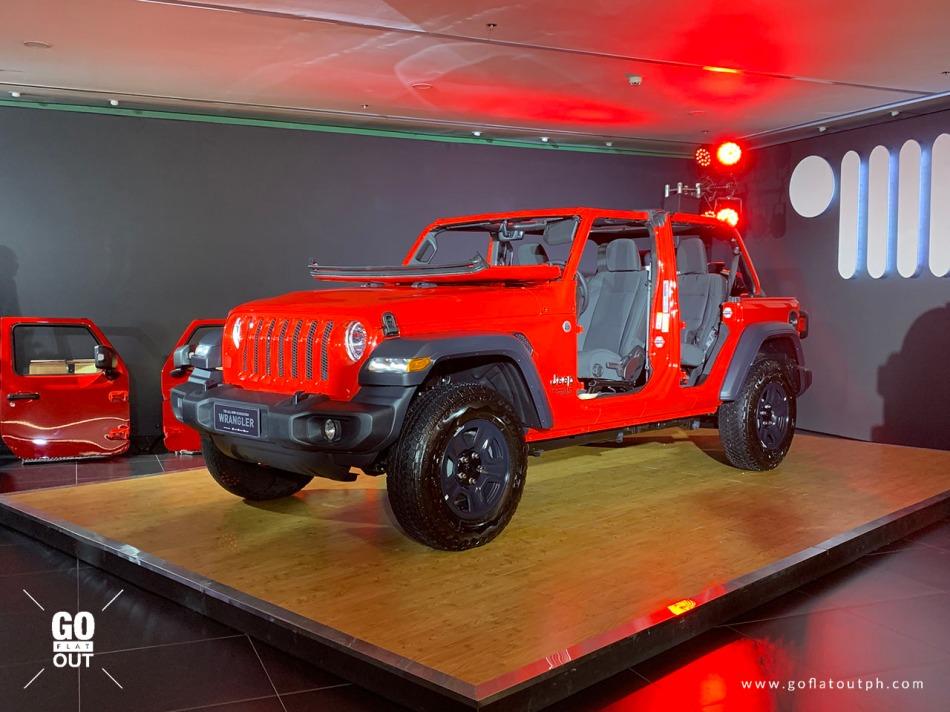 2019 Jeep Wrangler Unlimited Sport Exterior
