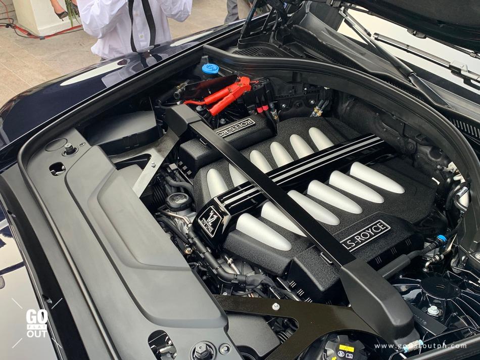 2019 Rolls-Royce Cullinan Engine