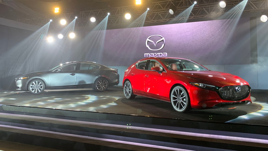 Mazda Philippines Gives A Preview Of The All-New Mazda 3 Sedan And Hatchback