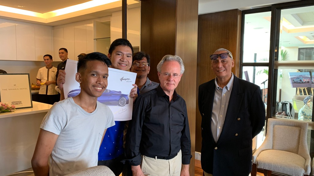 Horacio Pagani Visits Manila