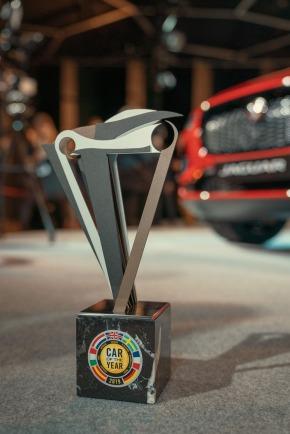 2019 European Car Of The Year Trophy