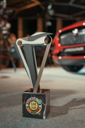 2019 European Car Of The Year Trophy