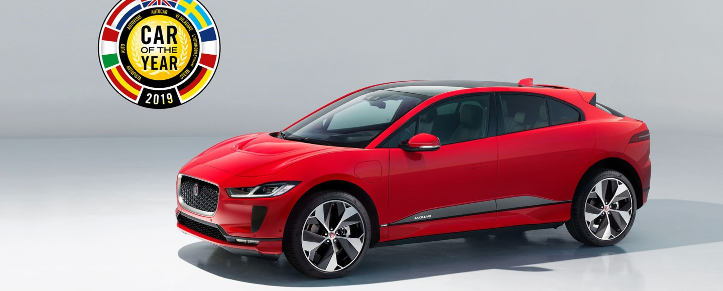 All-Electric Jaguar I-Pace Is 2019 European Car Of The Year