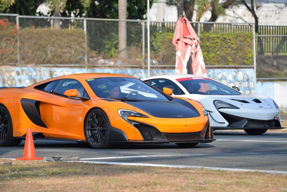 McLaren 675LT Prototype and McLaren 570S GT4