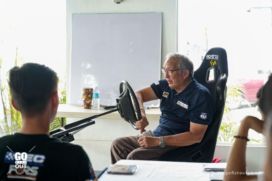 Ten-time National Rally Champion Vip Isada
