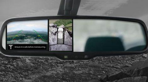 2019 Nissan Navara Around View Monitor