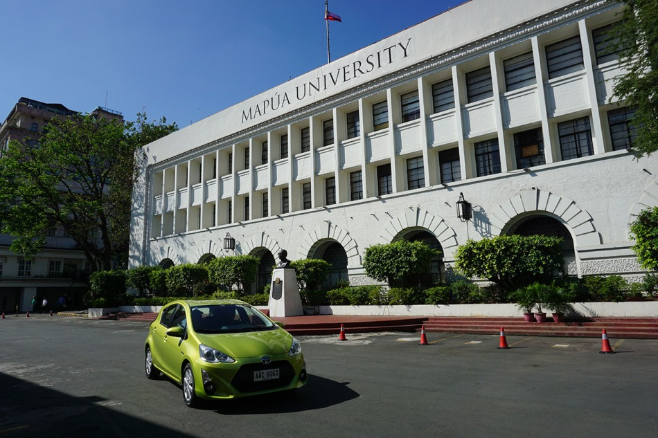 Toyota's Hybrids Go On A Campus Tour At MAPÚA