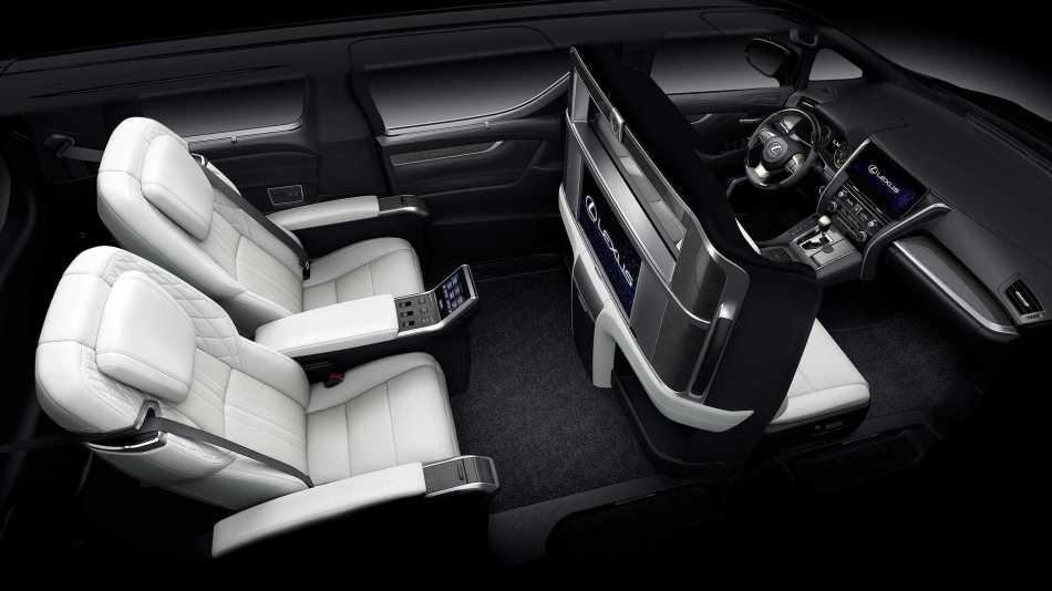 2019 Lexus LM Interior
