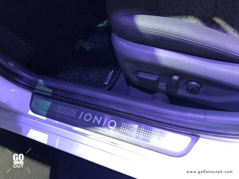 2019 Hyundai Ioniq Electric Interior