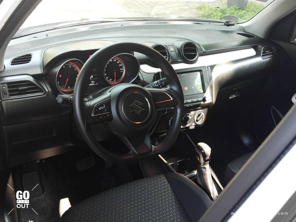 2019 Suzuki Swift GL CVT Interior