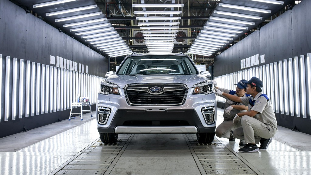 Subaru's New Assembly Plant In Thailand Will Satisfy Increased Demand For Its Vehicles