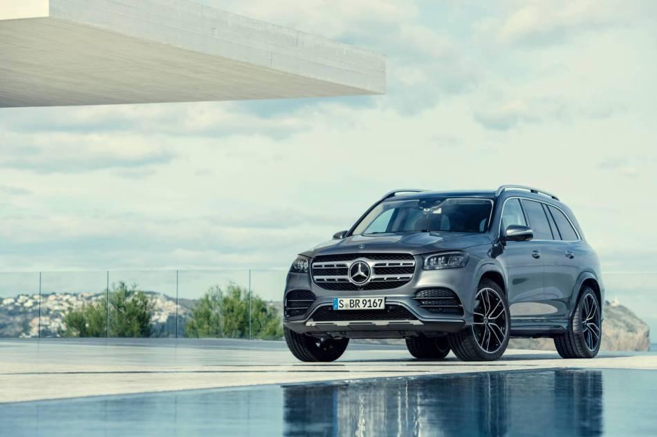 2020 Mercedes-Benz GLS Exterior