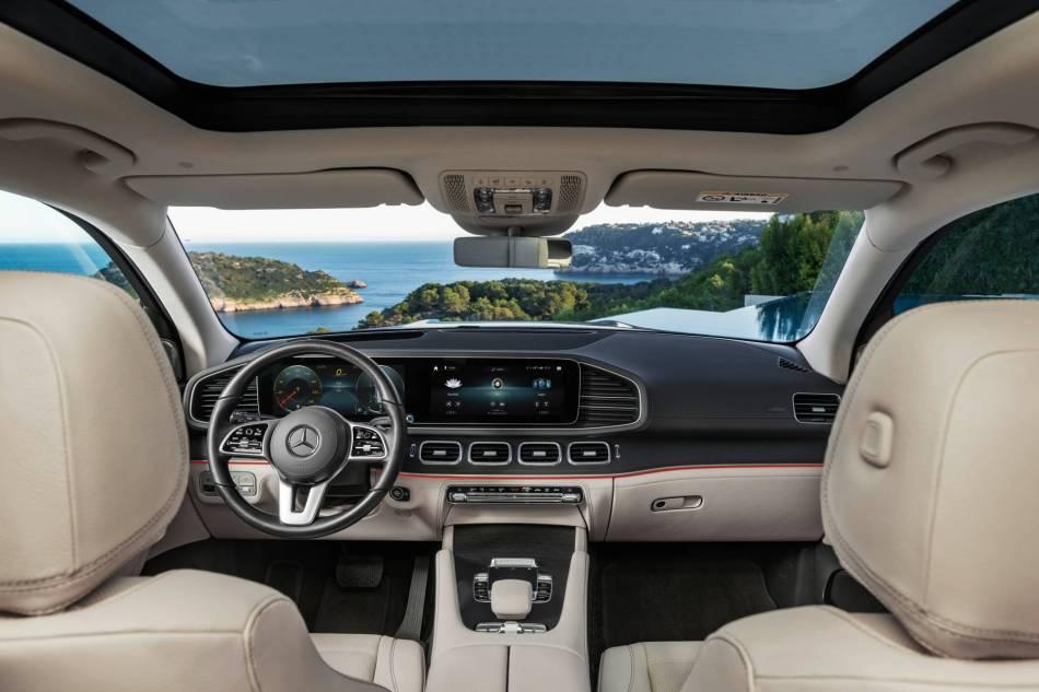 2020 Mercedes-Benz GLS Interior
