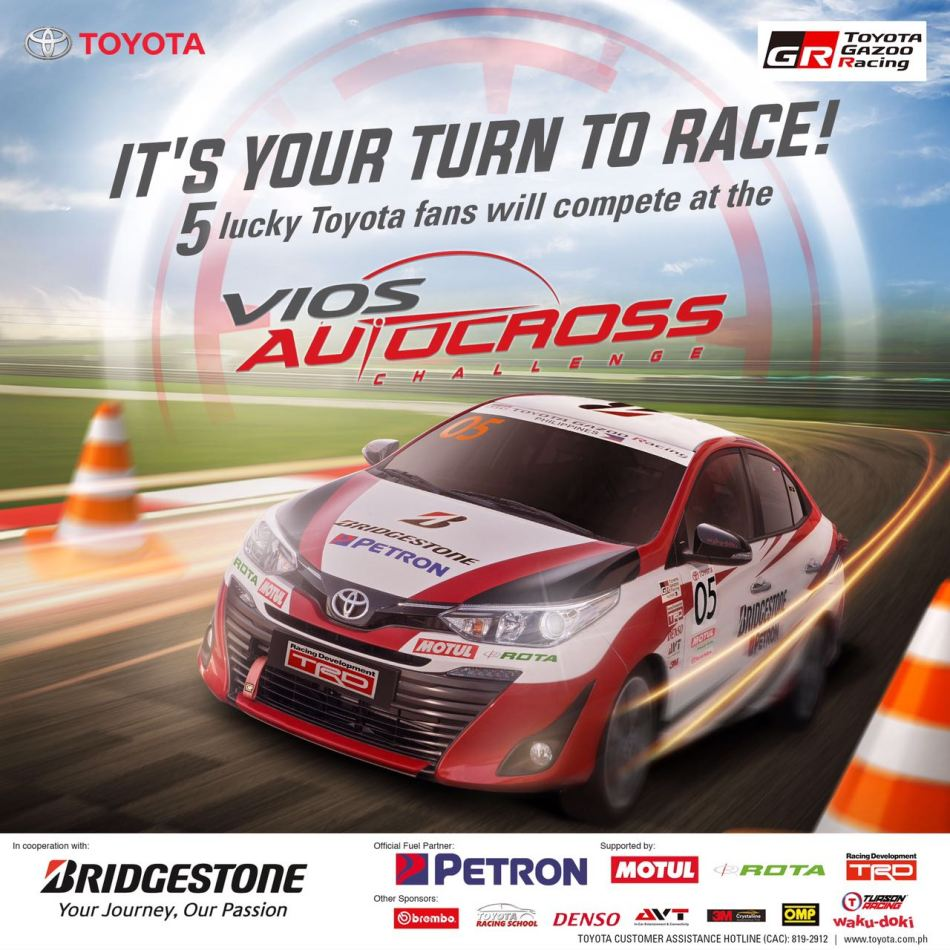 Toyota Owners Can Have The Opportunity To Race At This Weekend's Vios Autocross Challenge