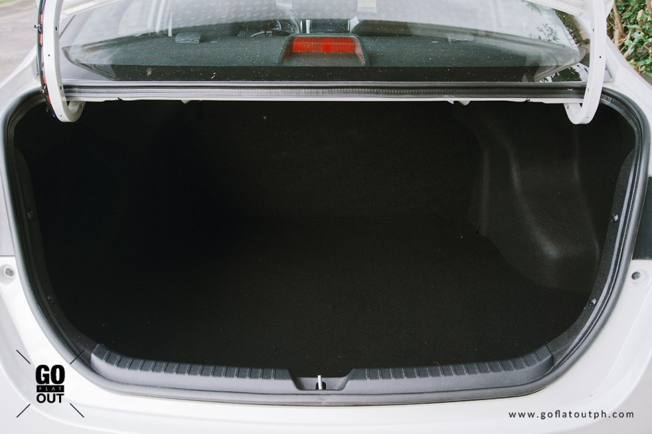 2019 Toyota Vios 1.5 G Trunk Space 478 Liters
