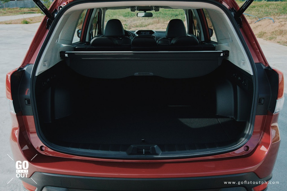 2019 Subaru Forester Trunk Space