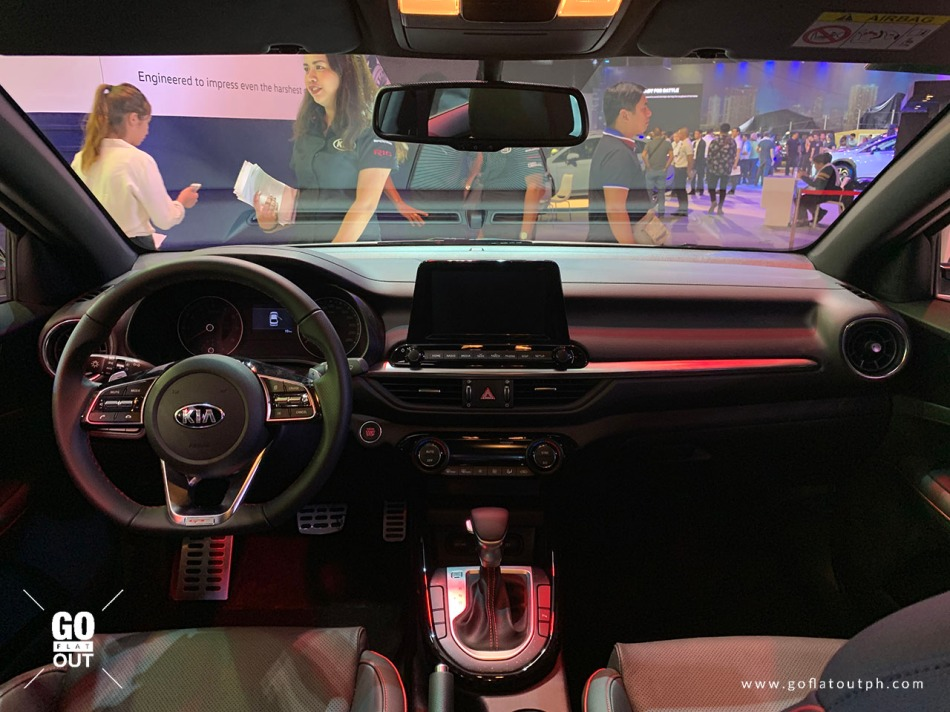 2019 Kia Forte GT Interior