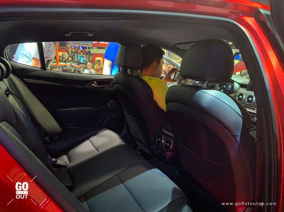 2019 Kia Stinger GT Interior