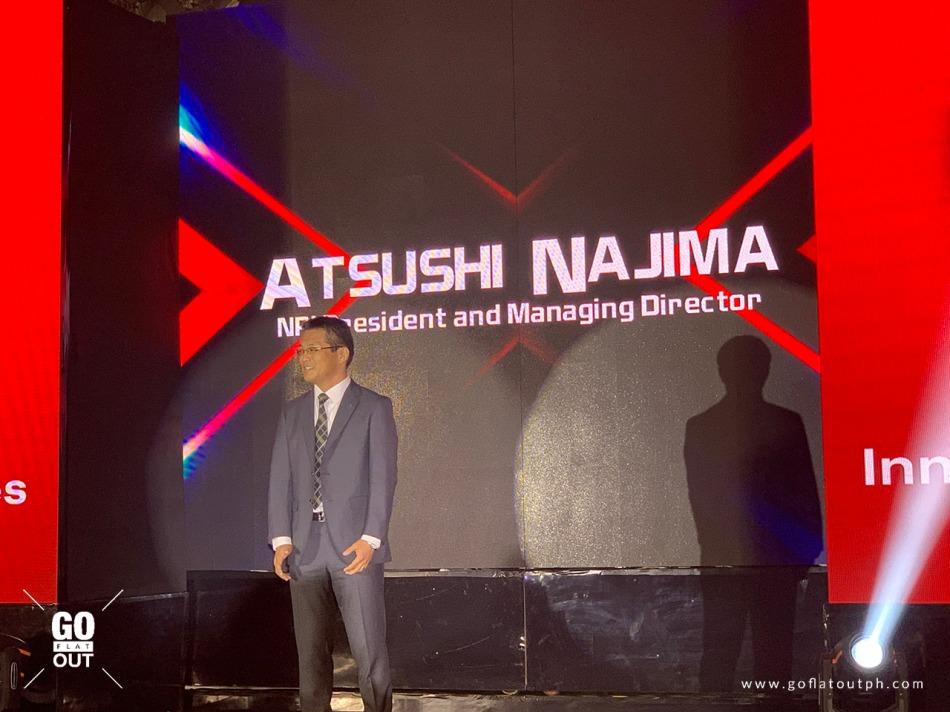 Nissan Philippines President Atsushi Najima
