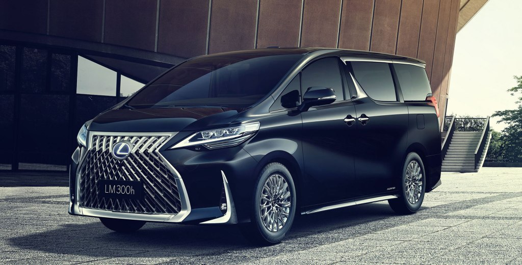 The All-New Lexus LM Makes Your Living Room Look Shabby