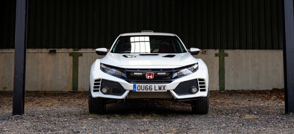 The Honda Civic Type R OveRland Is A Ford Ranger Raptor Challenger