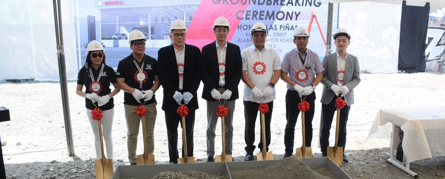 Honda Cars Las Piñas Will Be Honda's 40th Automobile Dealership In The Philippines