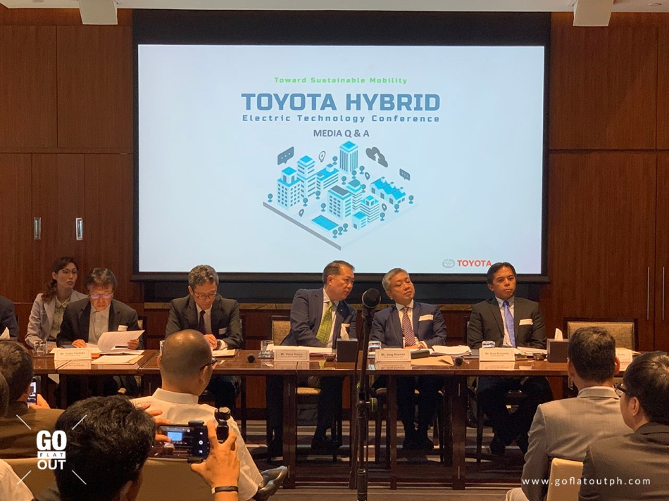 Toyota's Hybrid Electric Technology Conference