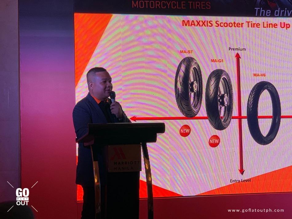MAXXIS Tires Sales Director, Jaybee Atanacio