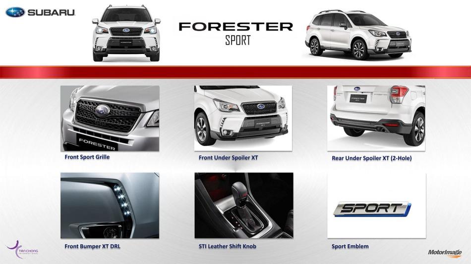 Subaru Forester XT Sport Kit