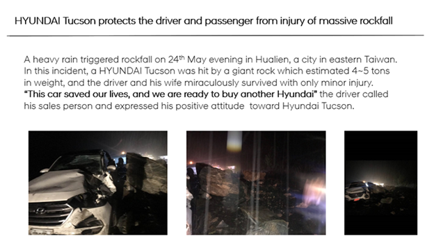 Hyundai Tucson Taiwan Incident