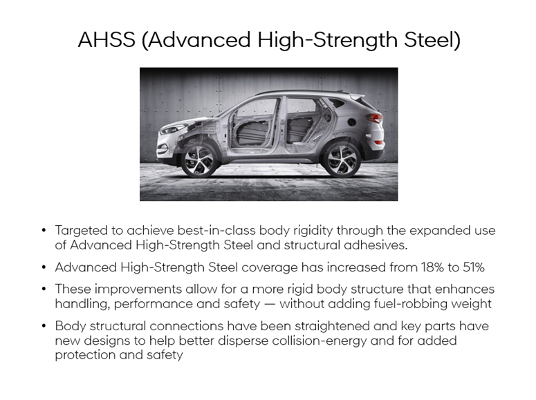 Hyundai Advanced High Strength Steel Benefits