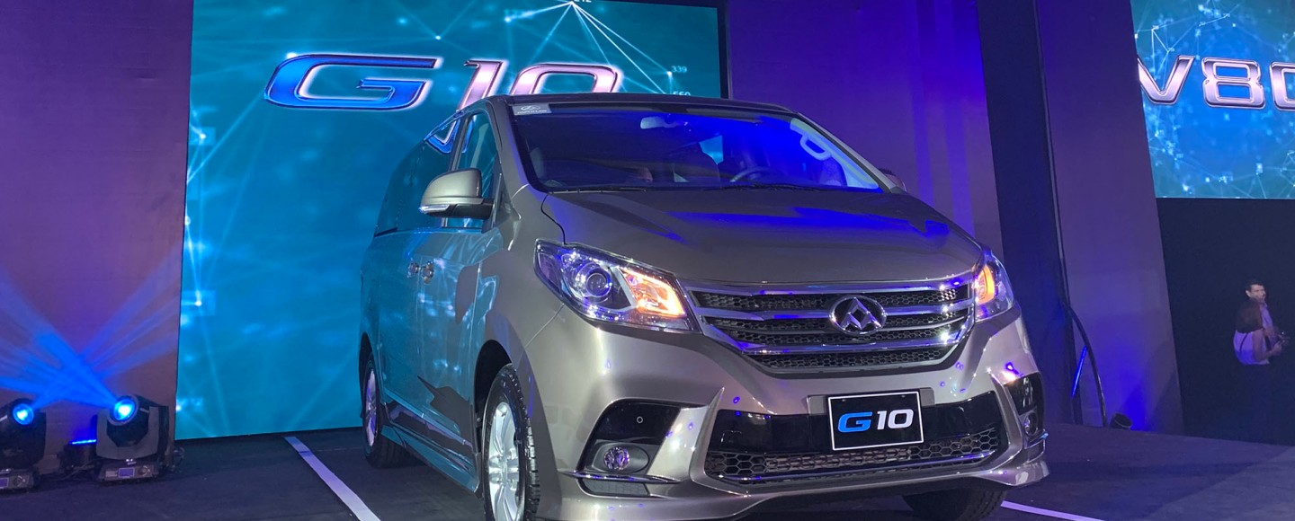 Maxus Lands In PH With G10 MPV And V80 Van