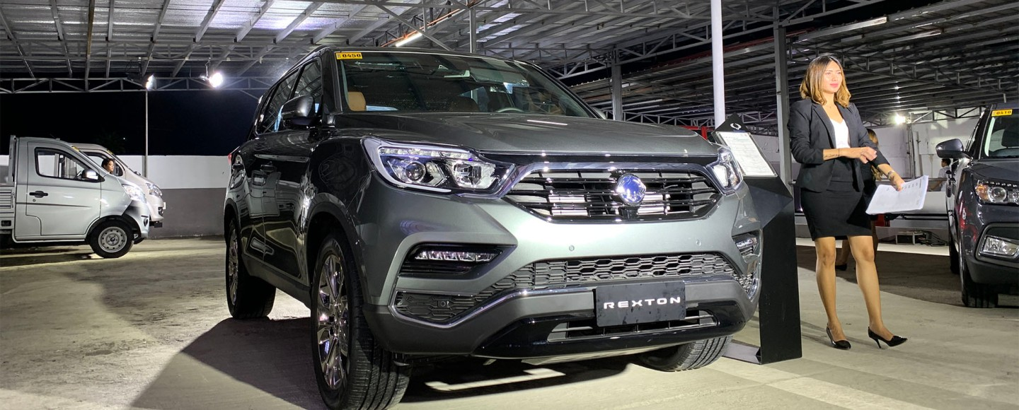 SsangYong Rexton Redefines Our SUV Expectations With A P1.730M Starting Price