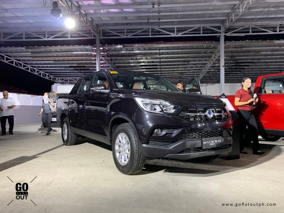 2020 SsangYong Musso Grand 4x4 Exterior