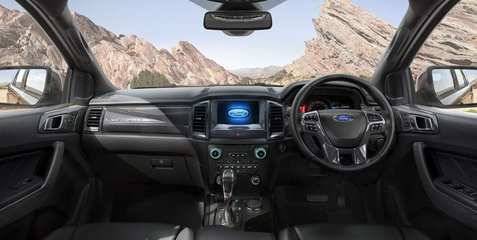 2019 Ford Everest Titanium 2.0 Bi-Turbo 4x4 Interior